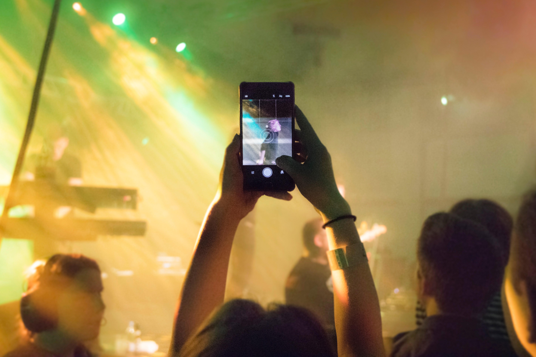 Konsert med kamera